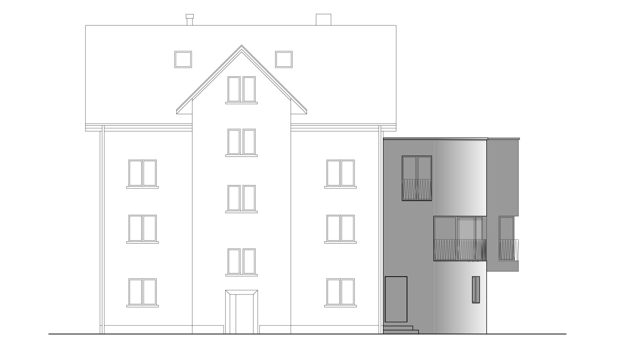 Einfamilienhaus und Bistro Brauerstrasse